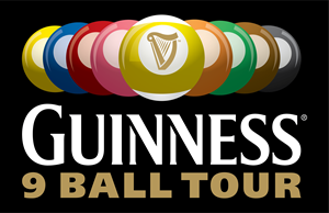Guinness 9 Ball Tour Logo Vector