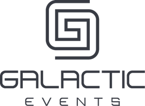 Galactic Events Logo Vector