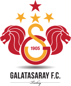 Galatasaray F.C 4 Star Logo Vector