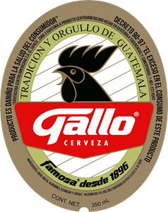 Gallo Label Beer Logo Vector