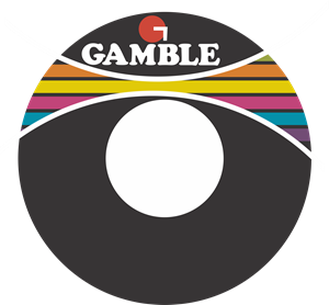 Gamble Records + 45 RPM sticker Logo Vector