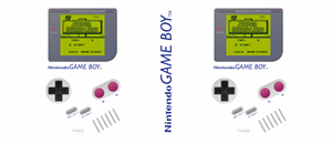 Game Boy Nintendo Logo Vector