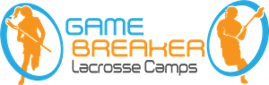 GAME BREAKER Lacrosse Camps Logo Vector