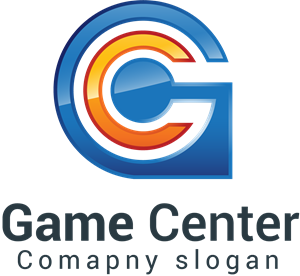 Game center Logo Vector