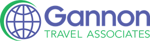 Gannon Travel Logo Vector