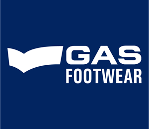 Gas Footwear Logo Vector
