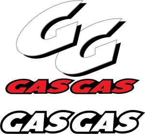 Gas Gas Motorcycles Logo Vector