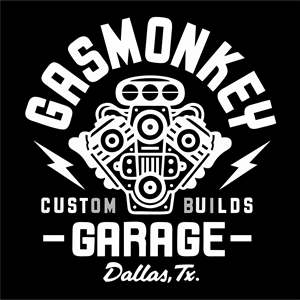 Gas Monkey Garage Logo Vector