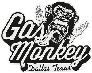 Gas Monkey Logo Vector