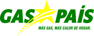 Gas país Logo Vector