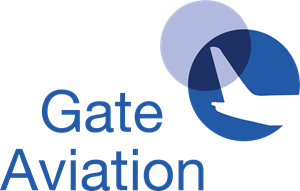 Gate Aviation Logo Vector