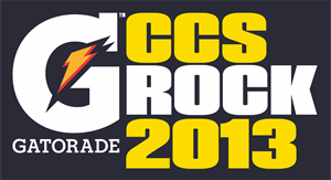 Gatorade CCS Rock 2013 Logo Vector