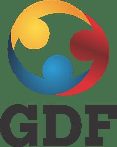 gdf logo vector ai free download