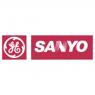 GE Imagination at Work Sanyo Logo Vector