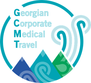 Georgian Corporate Medical Travel Logo Vector