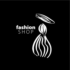 Girls And Clothing Fashion Shop Logo Vector Ai Free Download