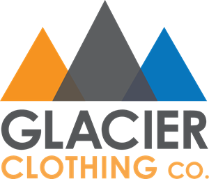 Glacier Clothing Co Logo Vector