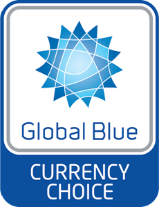 Global Blue Currency Choice Logo Vector