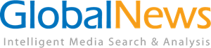 Global News Intelligent Media Search & Analysis Logo Vector