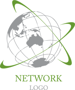 Globel Earth Network Logo Vector