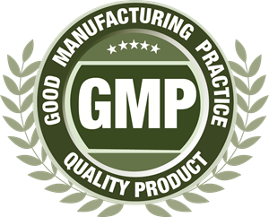GMP GOOD MANUFACTURING PRACTICE Logo Vector