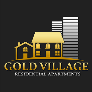 Gold village Logo Vector