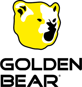 Golden Bear Logo Vector