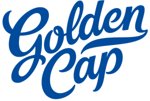 Golden Cap Logo Vector
