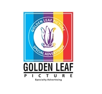 Golden Leaf Picture 2 Logo Vector