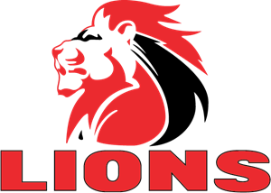 Golden Lions Logo Vector