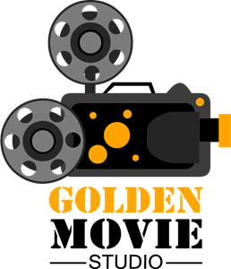 golden movie studio Logo Vector