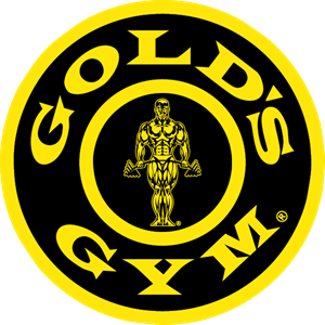 Golds Gym round Logo Vector