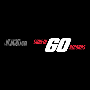 Gone in 60 Seconds Logo Vector