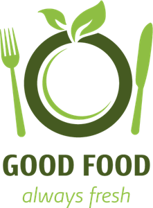 Good Food Logo Vector
