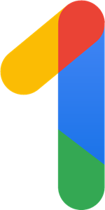 GOOGLE ONE Logo Vector