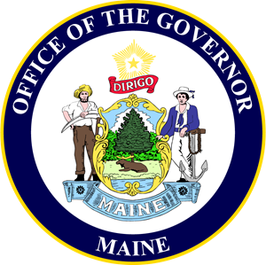 Governor of Maine Logo Vector