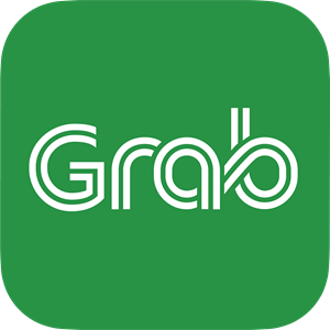 Grab Logo Vector