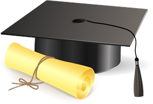 Graduation Logo Vector