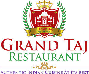 grand taj restaurant Logo Vector