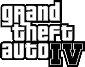 Grand Theft Auto IV Logo Vector