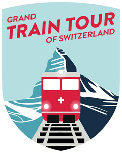 Grand Train Tour of Switzerland Logo Vector