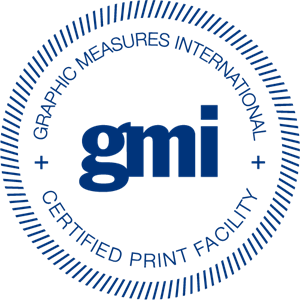 Graphic Measures International Certified Print Logo Vector