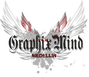 graphix mind Logo Vector