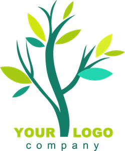 Greeen Tree Logo Vector