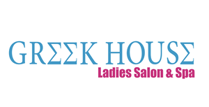 GREEK HOUSE Ladies Salon & Spa Logo Vector