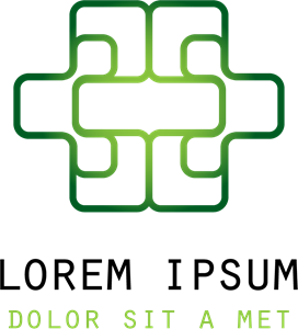 Green Abstract Shape Logo Vector