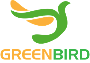 Green Bird Logo Vector