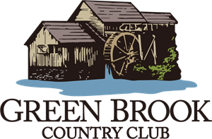 Green Brook Country Club Logo Vector