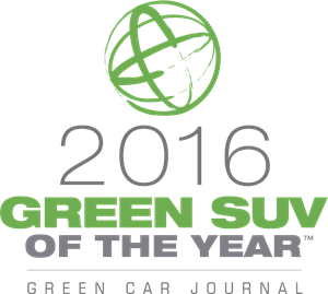 Green Car Journal 2016 Green Car of the year Logo Vector