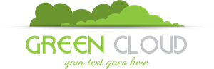 green cloud Logo Vector